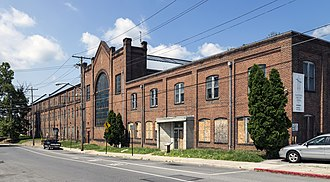 M. P. Moller - The abandoned Möller factory in Hagerstown, Maryland in 2014
