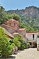 Monastery of Saint George Selinari Crete flowers museum and rocks.jpg