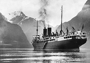 Monowai In Milford Sound Feb 1933.jpg