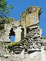 Montépilloy (60), château, tour neuve, vestige d'échauguette.JPG