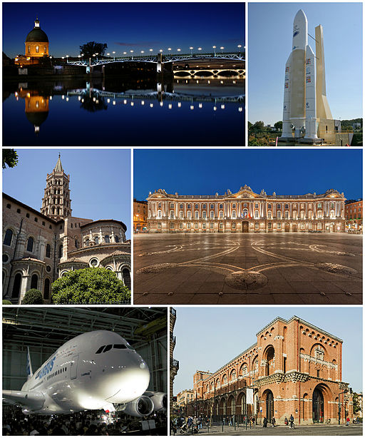 Toulouse sur Wikimedia commons