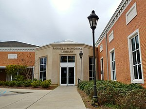 Montevallo, Alabama - Montevallo, Alabama Parnell Memorial Library