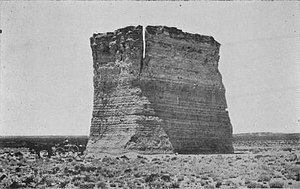 Monument Rocks (Kansas) - Image: Monument Rock