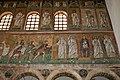 Mosaics of Three Magi and Virgin and Child, Basilica of Sant'Apollinare Nuovo, Ravenna, Italy (6125345588).jpg