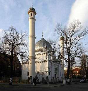 Lahore Ahmadiyya Movement for the Propagation of Islam - The Berlin Mosque in 2008