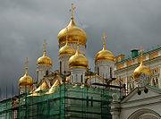 Cerkiew z Kremlowskiego kompleksu, styl ruski, Moskwa
