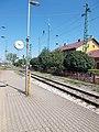 Mosonmagyaróvár vasútállomás, óra, 2017 Mosonmagyaróvár.jpg