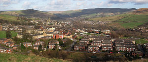 Mossley - Image: Mossley view
