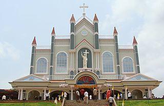 Most Holy Redeemer Church, Belthangady Church in Dakshina Kannada district, Karnataka