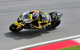 Colin Edwards op Sepang 2011
