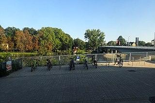 Motorradparkplatz Schweinfurt Am Unteren Marienbach