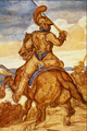 Mounted Officer of the Carabineers - Theodore Gericault.png