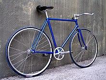fixed gear bicycle wikipedia