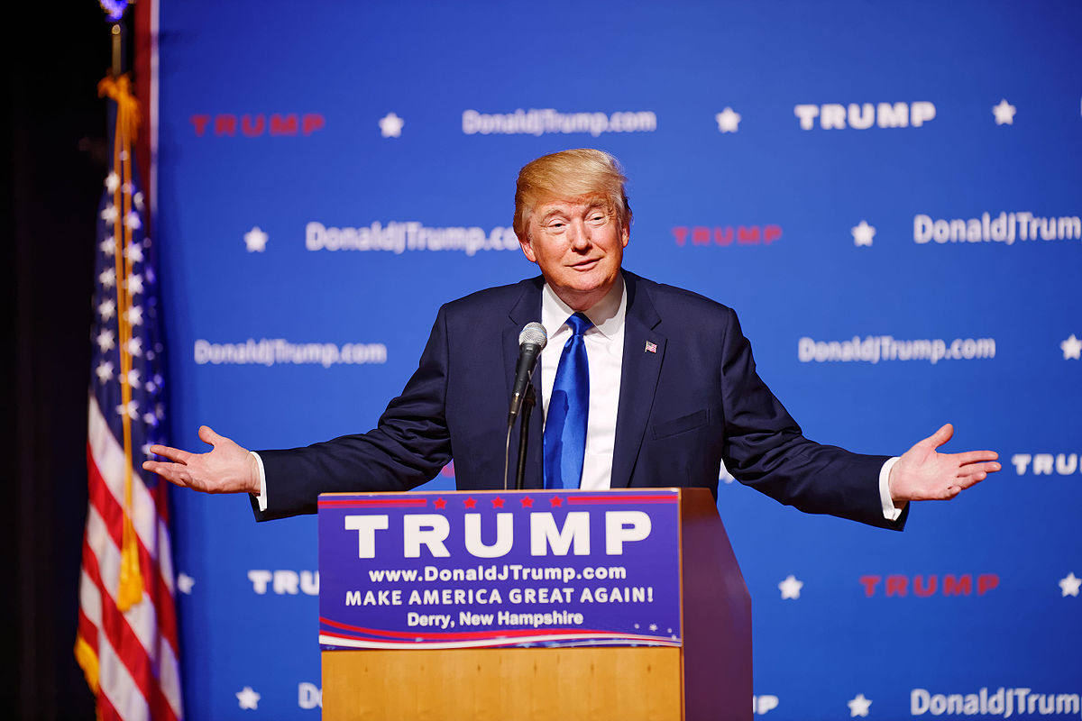 Mr Donald Trump New Hampshire Town Hall on August 19th 2015 at Pinkerton Academy in Derry, NH by Michael Vadon 07.jpg