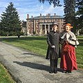 Mr and Mrs Twombly re-enactors at Florham estate Fairleigh Dickinson Uni.jpg