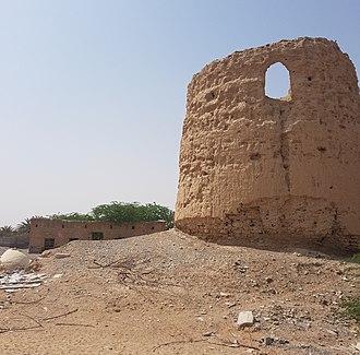 Naqbiyin - Watchtower at Khatt, Ras Al Khaimah