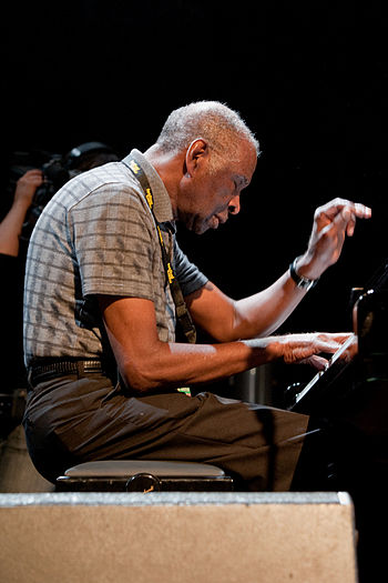 English: Muhal Richard Abrams, moers festival 2009