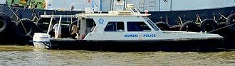Mumbai Police - Mumbai Police Speed Boat