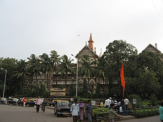 Mumbai Police - Mumbai Police Headquarters in a heritage Gothic-style building.