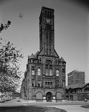 Clark County Heritage Center - Image: Municipal building, Springfield, Ohio