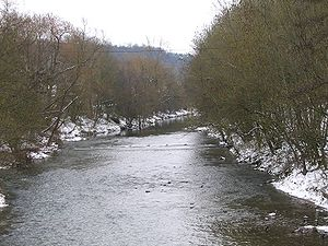 Murr (river) - The Murr near Steinheim