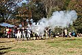 Musket fire at Battle of Ft Washington jeh.jpg