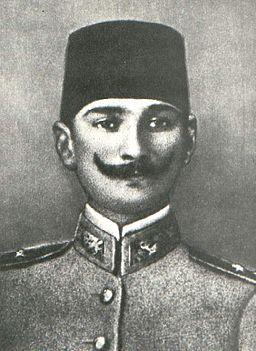 Mustafa Kemal Atatürk 1906 Damascus