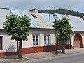 Muszyna, dom przy ul. Kościelnej 57, widok od pd..JPG