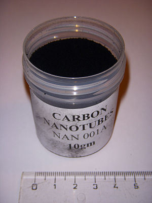 Synthesis of carbon nanotubes - powder of carbon nanotubes