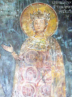 13th-century empress consort of Bulgaria
