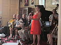 NO Trad Jazz Camp 2012 Palm Court Ms Claudia 2.JPG