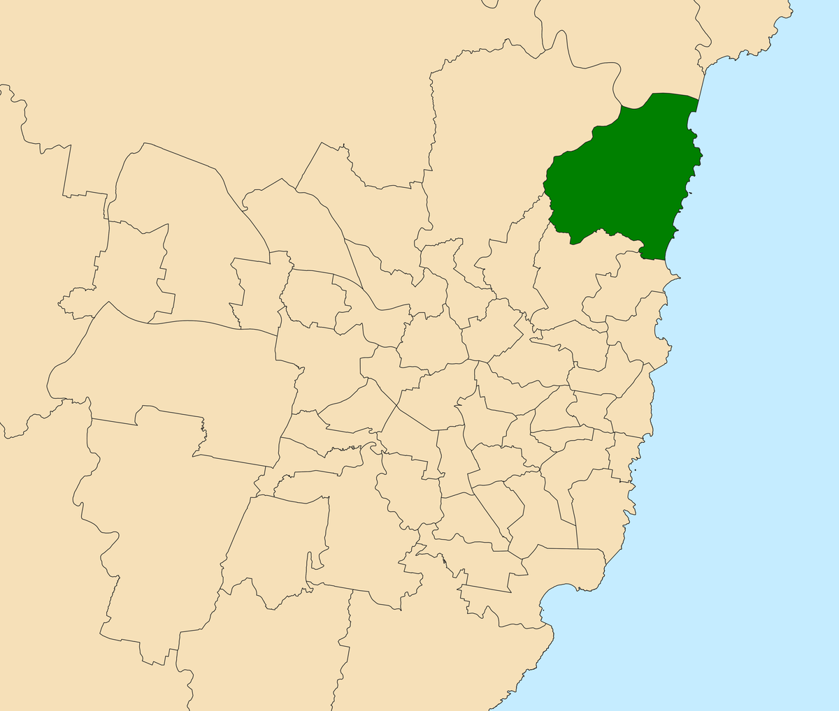 Electoral district of Pittwater - Wikipedia