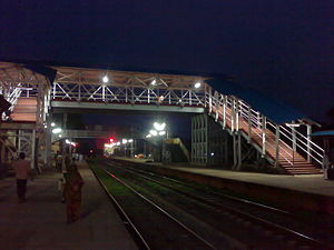 Nalhati Junction railway station - New Foot over bridge