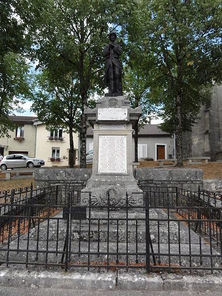 Nançois-sur-Ornain (Meuse) monument aux morts