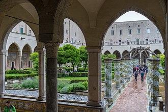 Santa Chiara, Naples - Cloister