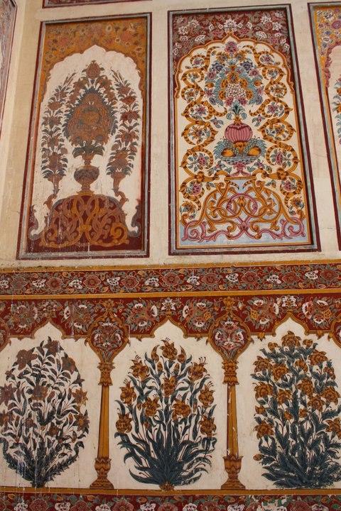 Naqashi Detail - Badshahi Mosque, Lahore