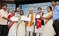 Narendra Singh Tomar conferring the National Awards on the Best Performing Self Help Groups under Deendayal Antayodaya Yojana - National Rural Livelihood Mission (DAY- NRLM), in New Delhi (3).JPG