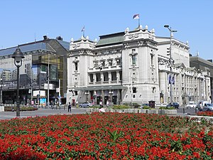 National Theatre in Belgrade - The National Theatre in 2012.
