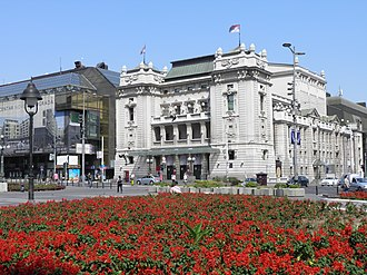 National Theatre in Belgrade - The National Theatre in 2012