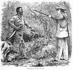 The capture of Nat Turner