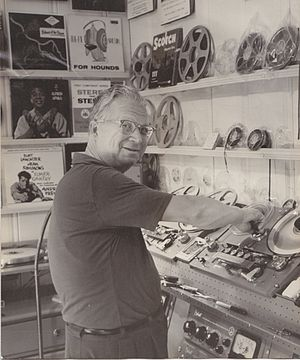 Van Cleave - (Nathan) Van Cleave, American composer, orchestrator, and arranger for film, television, and radio. Image c. 1960s.
