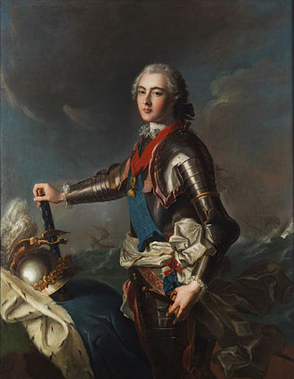 Louis Jean Marie de Bourbon, Duke of Penthièvre - Penthièvre by Nattier