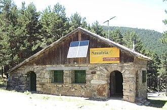 Navafría - Mountain house in the port of Navafría.