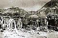 Nemški pratež v Idrskem po uspešnem preboju fronte, oktobra 1917.jpg
