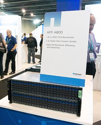 NetApp - NetApp AFF A800 with 48 NVMe SSD drives
