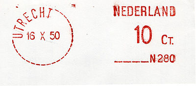 Netherlands stamp type E1.jpg