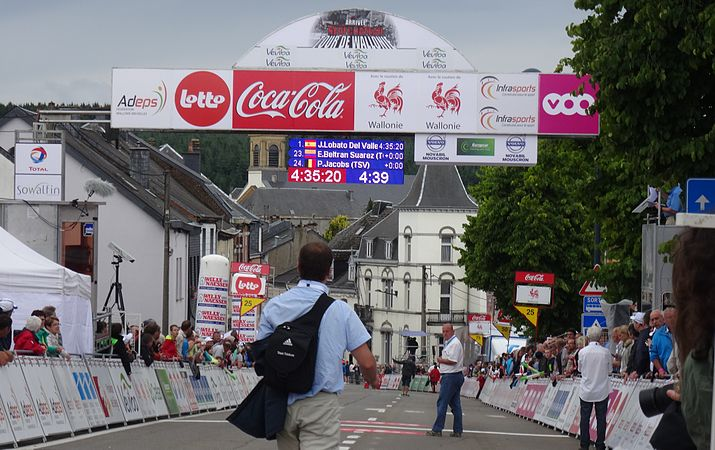 Neufchâteau - Tour de Wallonie, étape 3, 28 juillet 2014, arrivée (D14).JPG