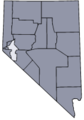 Nevada map showing Lyon County.png