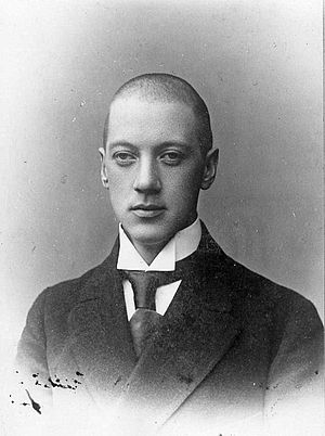 Nikolay Gumilyov - Nikolai Gumilyov during  his senior years  in  gymnasium