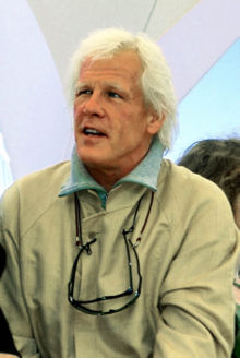 O actor estatounitense Nick Nolte en 2000 en o Festival de Cannes.